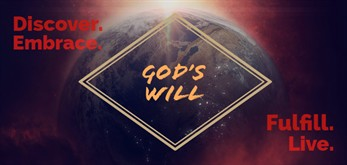 Gods Will Sermon Banner 1